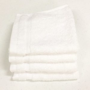 Blissful Collection White Wash Cloth