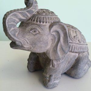 gift, statue, elephant