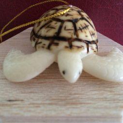 gift, ornament, tagua, turtle