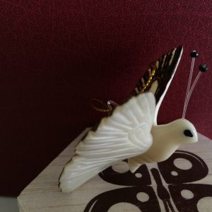 gift, ornament, tagua, butterfly