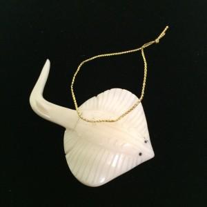 Tagua Nut Manta Ray