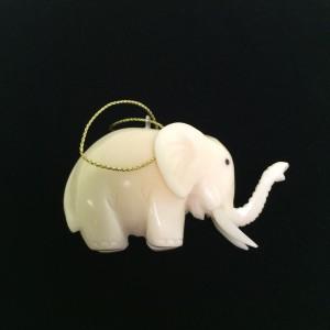 Tagua Nut Elephant