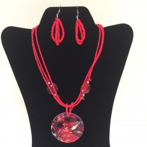 Fashion Necklace & Earring Set 113