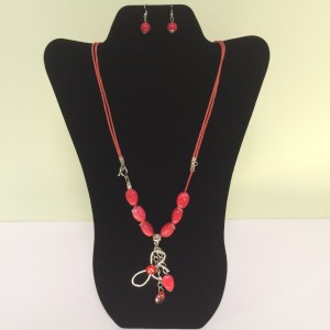 Fashion Necklace & Earring Set 114e & Earring Set
