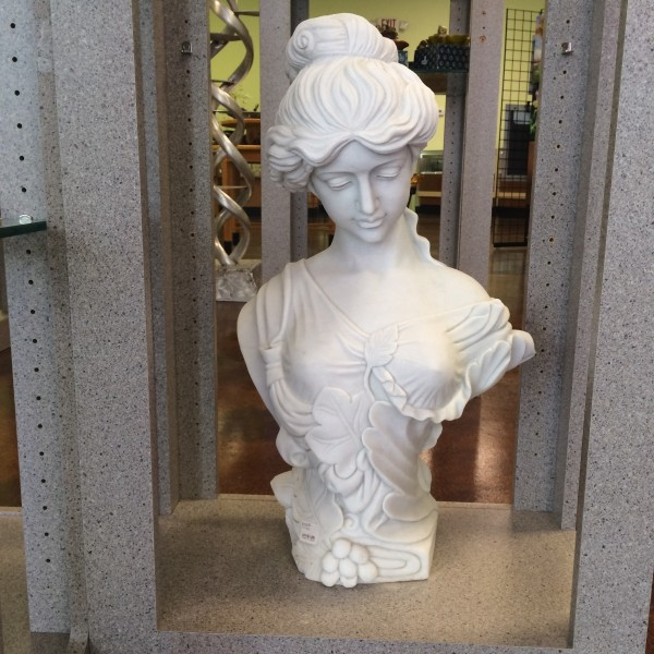Marble Statue Woman's Bust