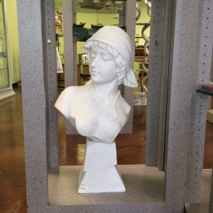 Marble Statue Female Bust Bust 2