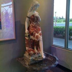 Marble Statute Bath Woman Fountain
