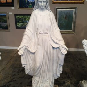Marble Statue Virgin Mary
