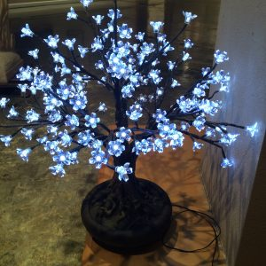 3.5 Feet Bonsai Cherry Blossom LED Tree