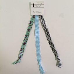 Packaged Headbands Printed -Three Pack
