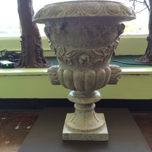 Marble Statue Flower Pots, set of 2