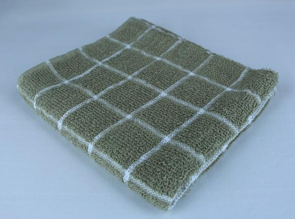 Dish Towel, Green Check