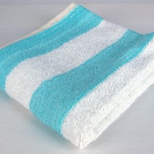 Dish Cloth, Blue and White Stripe