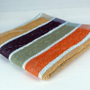 Dish Towel, Multi-Color Stripe
