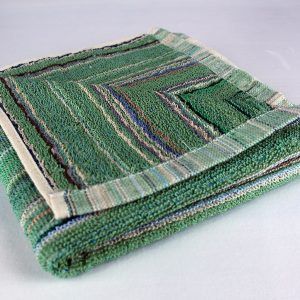 Dish towel, green stripe