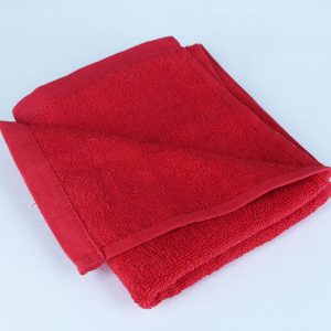 Disth towel, red