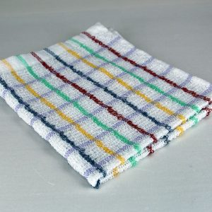 Dish Cloth, Multi-Color Stripe