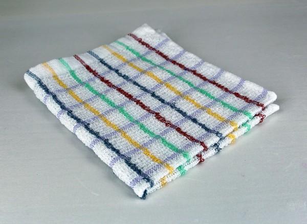 Dish Cloth, Multi-Color Stripe