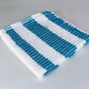 Dish Cloth, Blue Stripe