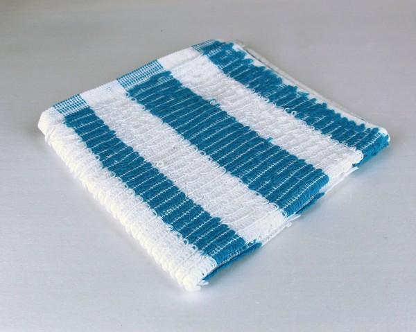 Dish Cloth, Blue Stripe