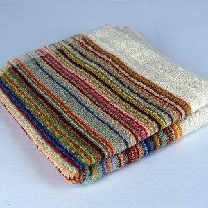 Dish towel, multi-stripe