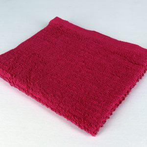 dish towel, red