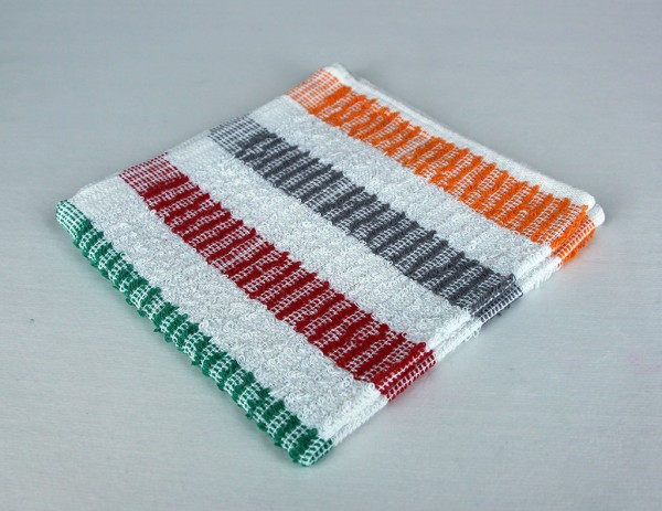 Dish Towel, Multi-Color Stipe