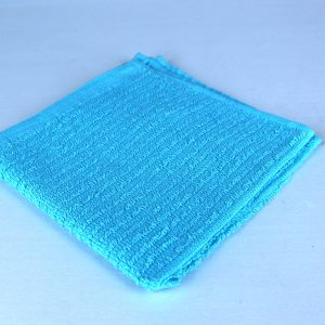 Dish Cloth, Blue 100% cotton