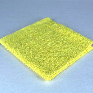 dish cloth, yellow
