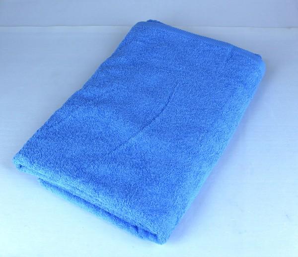 Bath Towel, Blue, 100% Cotton