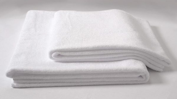 Blissful Towel Collection White BathTowel